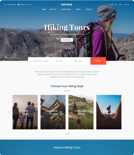 Hiking - Tour Agency