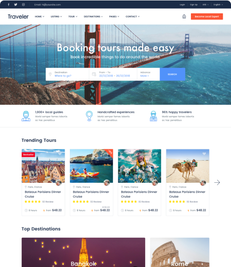 Tomap - Tour Marketplace